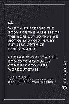 Maximize Workout Results | How Your Warm-Up and Cool-Down Enhance Your Workout Workout Results, Our Body, Comebacks, Advice, How To Get, Warm, Cool Stuff, Fitness, Keep Fit