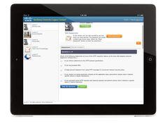 Cisco Tandberg University Content Player by Samir Dash, via Behance