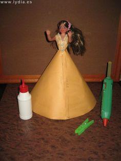 Foro de Manualidades Lydia :: Ver tema - paso a paso muñeca de papel