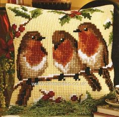 Thrilling Designing Your Own Cross Stitch Embroidery Patterns Ideas. Exhilarating Designing Your Own Cross Stitch Embroidery Patterns Ideas. Cross Stitch Cushion, Cross Stitch Bird, Cross Stitch Borders, Cross Stitch Animals, Cross Stitch Flowers, Cross Stitch Charts, Cross Stitch Designs, Cross Stitch Embroidery, Cross Stitch Patterns