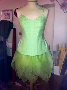 Talent, Passion & Savoir-Faire: Tuto pour un costume de Fée Clochette