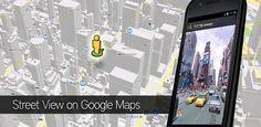 Street View en Google Maps te permite explorar el mundo a pie de calle.  Con Street View de Google Maps, puedes explorar el mundo a pie de calle. Haz una visita virtual por lugares turísticos, tu propio barrio y por cualquier lugar del mundo.  Para utilizar Street View, abre Google Maps, busca un lugar o pulsa sobre un lugar en el mapa y toca en la opción de Street View.