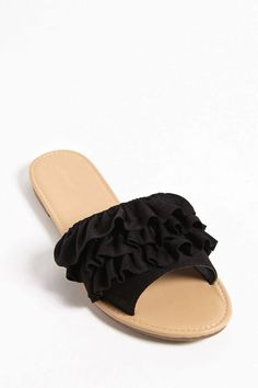 2bdc7e229 Women s Maritza Multi Strap Toe Slide Sandal - Universal Thread ...