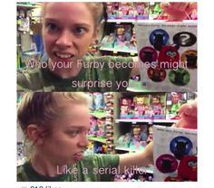 My cousin has one, it creeps me out! I had to stuff it in the closet for it to sleep Just For Laughs, Just For You, Graveyard Girl, Funny Pins, Funny Stuff, Have A Laugh, Grav3yardgirl Funny, Tumblr Funny, Laugh Out Loud
