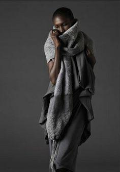 donna karan_layers of luxurious grey