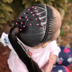 # types of Braids for kids # types of Braids for kids Girls Hairdos, Baby Girl Hairstyles, Princess Hairstyles, Cute Hairstyles, Braided Hairstyles, Braid Styles For Girls, Natural Hair Styles, Long Hair Styles, Toddler Hair