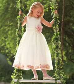 rose petals dress - she'll remember this gorgeous dress for the rest of her life.