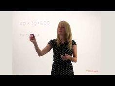 Multiplying with factors of ten - YouTube