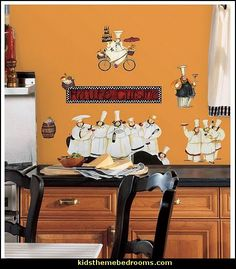 Fat Chefs Wall Decals