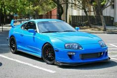 Blue Love #ForTheSupraToyotaLovers #toyota #supra #mkiv