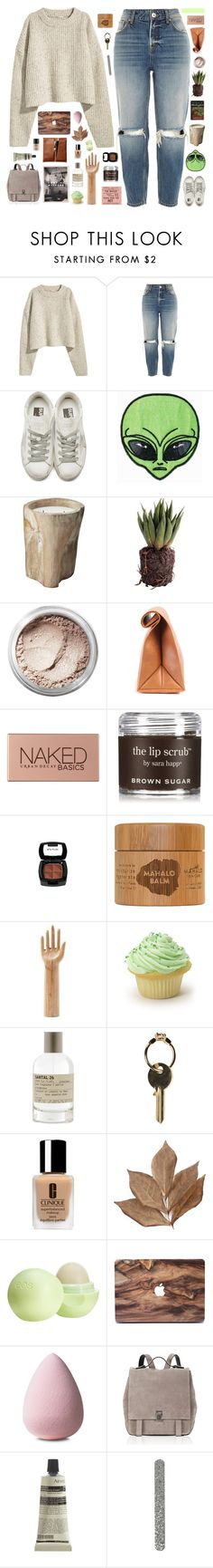 """""""☾ for you i'd write a symphony"""" by thundxrstorms ❤ liked on Polyvore featuring River Island, Golden Goose, Bare Escentuals, Urban Decay, Sara Happ, HAY, Le Labo, Maison Margiela, Clinique and Bliss Studio"""