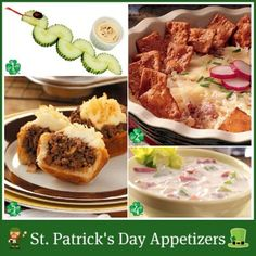 St Patricks Day Party Snack Recipes St Patricks Day Food Appetizers And Main Dishes