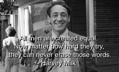 """Four days later I went to see Milk, the story of Harvey Milk, the first openly gay elected official in the US, who was assassinated in 1978 by a fellow city supervisor. I cried during the film, and not only because of Sean Penn's compelling portrayal: The film's time frame covered the period of my coming out, and the gay activism it portrayed was a bolder version of my activism in the Montreal of the mid- to late seventies..."" • www.actsofsurrender.com"