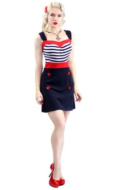 this is from the sourpuss website, im not usually one for sailor outfits but this is sooo adorable! plus i'll look a lot hotter in it :o) www.sourpussclothing.com