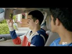 Tyler Posey and Dylan O'Brien Toyota commercial