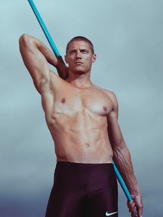 Yes, one of the most attractive men ive ever seen...Holy Javelin