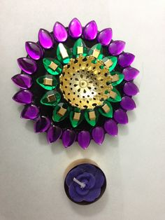 Lotus Inspired Floating Diya Candle Holder Diwali Decoration Wedding Festive Diya