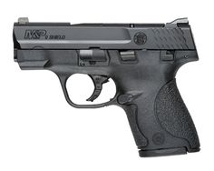 Smith & Wesson's  M&P SHIELD 9mm is a slim, concealable, lightweight, striker-fired polymer pistol.  The pistol is easily concealed with its...