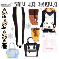 Snow Day Fashion $50 Giveaway from AMIClubwear hosted on alamodest.com. Ends 3/8. Enter here: http://alamodest.com/50-amiclubwear-fashion-giveaway/