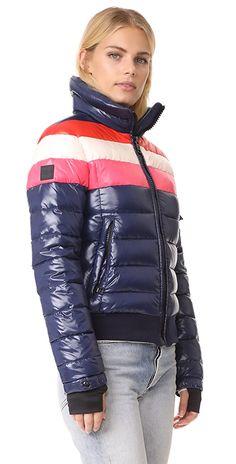 SAM. Starburst Jacket | SHOPBOP Down Parka, Down Coat, Cool Jackets, Jackets For Women, Winter Coats Women, Winter Jackets, Nylons, Women Lifestyle, Puffer Jackets