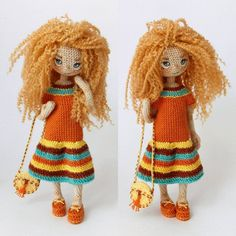 Hello world! I have a new doll to show you😉 ----------- Привет народ! Встречайте новую куклу 😉 она рыжая, с веснушками, и очень добрая, я думаю.