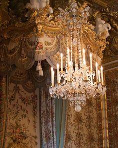 Chandelier in the Palace of Versailles Chandeliers, Chandelier Lighting, Marie Antoinette, Smash Book, Kylie Johnson, Chateau Versailles, Beautiful Costumes, Paris Photos, Decoration