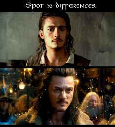 """Please tell me that I wasn't the only one to watch The Desolation of Smaug trailer and think, """"Wait... Orlando Bloom plays TWO characters?!"""""""