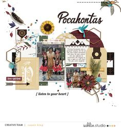 Project Mouse (Princess) Adventurous – Scrapbook Kits + Journal Cards | Sahlin Studio | Digital Scrapbooking Designs