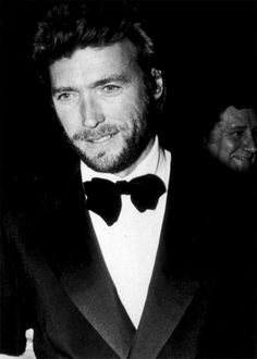 Clint Eastwood in a tux circa 1966