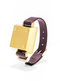 Pin for Later: BaubleBar Turns Your Jawbone Up Into the Ultimate Statement Piece  Tango bracelet ($45) in maroon