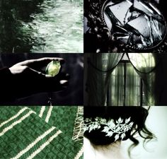 Death is but the next great adventure | Harry Potter house aesthetics | Slytherin