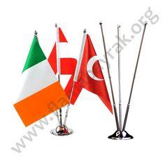 Msa Bayrağı Üçlü ,3lü Masa Bayrağı
