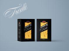 #pasta #packaging #black