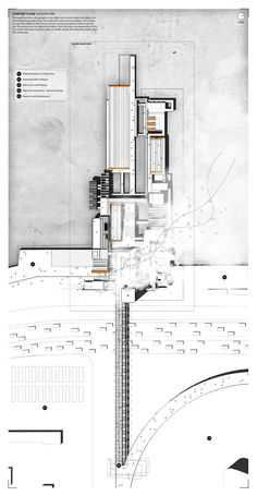 Mitigating the machine manhattan thermal baths on behance. Interior Architecture Drawing, Architecture Drawing Plan, Architecture Mapping, Revit Architecture, Architecture Graphics, Architecture Portfolio, Concept Architecture, Architecture Diagrams, Landscape Architecture