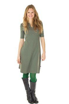 Nieuwe najaarscollectie online bij www.solvejg.nl zoals deze Polly jurk van Froy & Dind