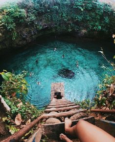 Hidden nature paradise, who wants to swim here? 🌿 To Sua Ocean Trench, Samoa. Photos by . ✑ ✑ Who would you share this… Cool Places To Visit, Places To Travel, Vacation Places, Vacation Ideas, Vacation Outfits, Best Places In Portugal, Destination Voyage, Travel Aesthetic, Adventure Aesthetic