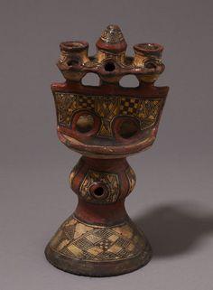 Lampe à huile, Kabylie, Algérie, 19° siècle V&A