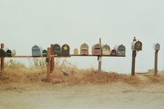 I need a new mailbox. And I want my neighbours change them too.