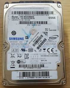 Samsung Spinpoint M8 HN-M500MBB 500GB SATAII 2.5  HDD Hard Disk Drive