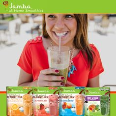 Kick-off your weekend with a smoothie you've been dreaming of. Try Jamba At Home Smoothies kit—just grab your favorite juice, blend and voilà!