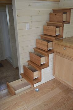 Stairs | Community Post: 6 Cool Storage Ideas For A Tiny House