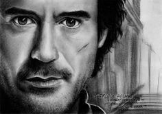 Sherlock Holmes ::Robert Downey Jr:: by LivieSukma