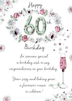 Image Result For 60th Birthday Wishes