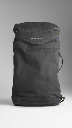Sailing Canvas Duffle Bag | Burberry