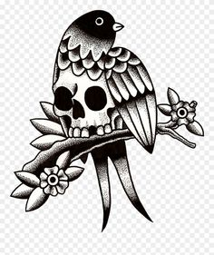 Old school (tattoo) Flash Swallow tattoo Tattoo artist, birdcage by octopus artis PNG Traditional Tattoo Black And Grey, Traditional Tattoo Old School, Traditional Tattoo Design, Black And Grey Tattoos, Doodle Tattoo, 1 Tattoo, Tattoo Motive, Tattoo Sketches, Tattoo Drawings