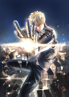 One Punch Man - Genos by JYA (id 53078039)