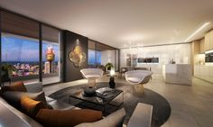 Penthouse Apartments Sydney offers guest the opportunity to search for specific Sub Penthouse and Penthouse Sydney Accommodation Apartments, Hotels and Resorts. Apartment Sites, Penthouse Apartment, Apartments, Sydney Accommodation, Holiday Accommodation, Hotels And Resorts, Living Room, Luxury, Bedroom