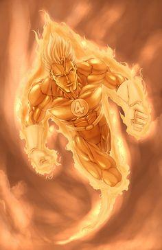 Human Torch: Human Torch