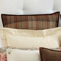Amazon.com - Ralph Lauren Shetland Manor Plaid European Pillow Sham - Ralph Lauren Men