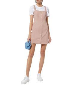 Mayoon Twill Mini Dress, PINK, hi-res